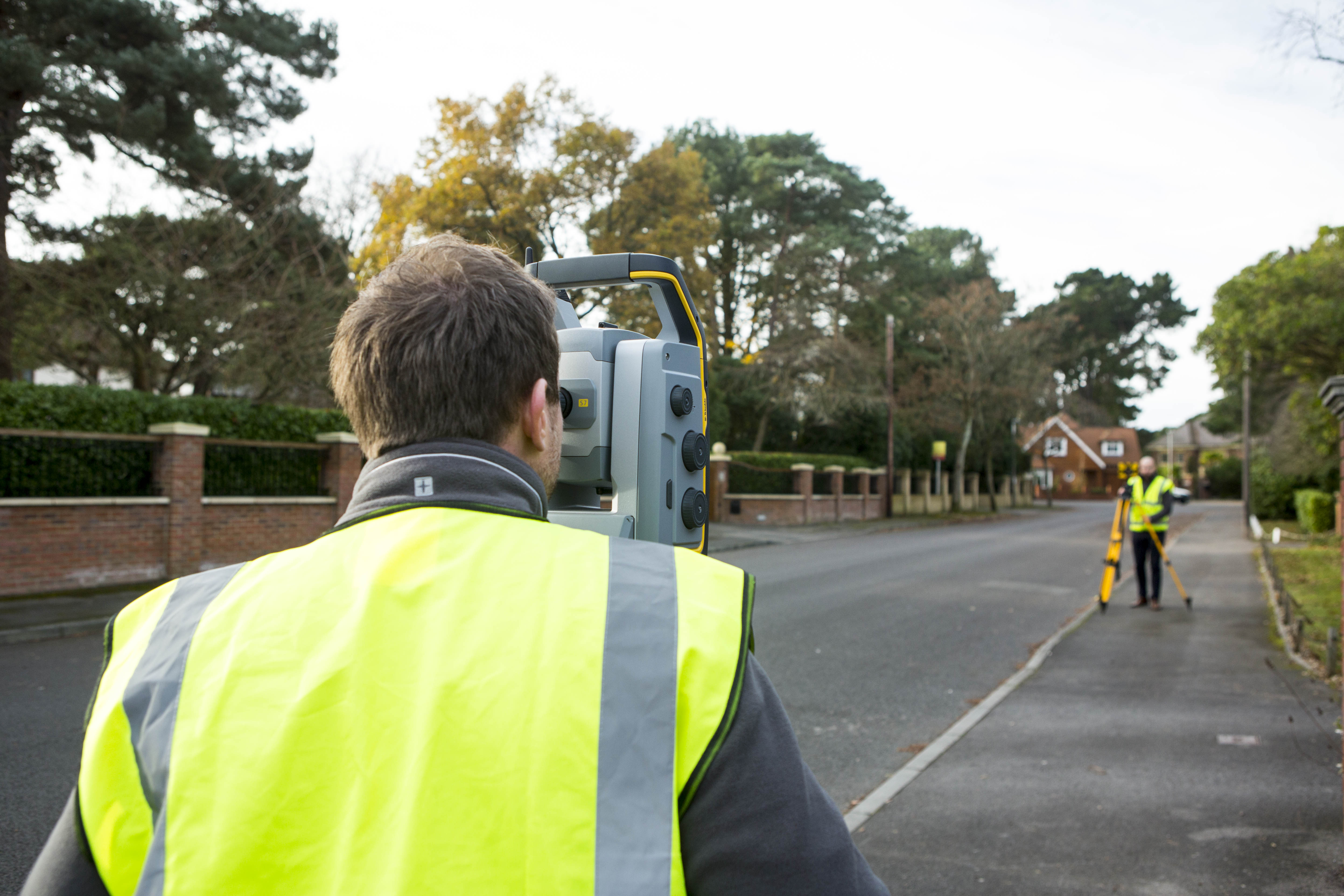 A Topographical Survey Of A Street